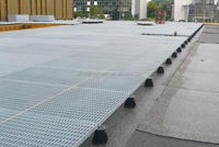 polished ceramic floor(flooring) for roof terraces for water features