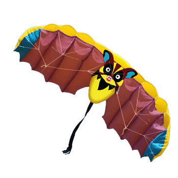 Hot wholesale toy power double line cartoon bat kite