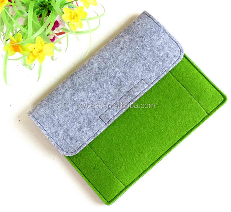 China felt bag manufacturer custom eco friendly wool felt case felt bag for ipad 2 3 4 5 6 7 universal