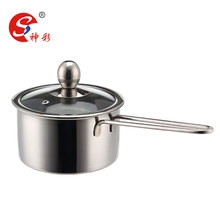 Sauce Pan Stainless Steel Mini Hot Pot Cooker Soup Warmer Welded Handle