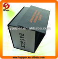 High quality black cardboard box,rigid black cardboard box,cardboard matte black box