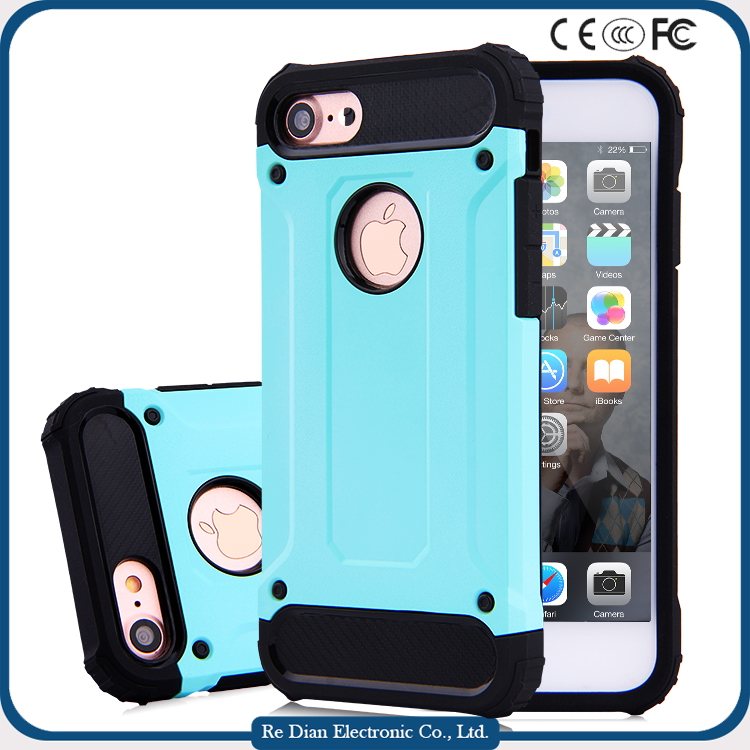 TPU attractive light plastic bumper mobile phone cover case for iphone6,6plus
