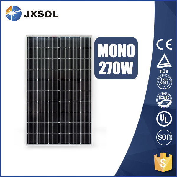 cheap price pv solar panel monocrystalline solar panel 270w