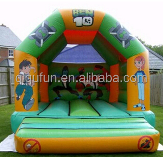Inflatable games toddlers trampoline/inflatable frozen jumper B009