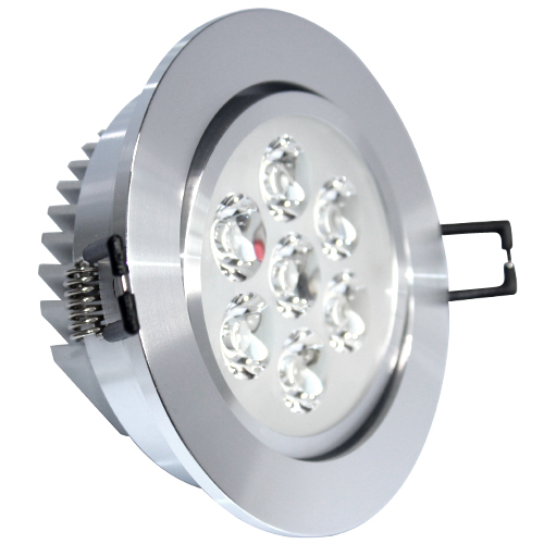 CE ROHS Led bulb 7W down light recessed concrete led ceiling light
