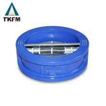 TKFM manufacture directly provide hot sale water wafer type flap check valve symbol valve duo check