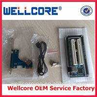 Wholesale PCIe to dual PCI-e card adapter pci express to external 2 pci express slot adapter --Factory,Welcome OEM!!!