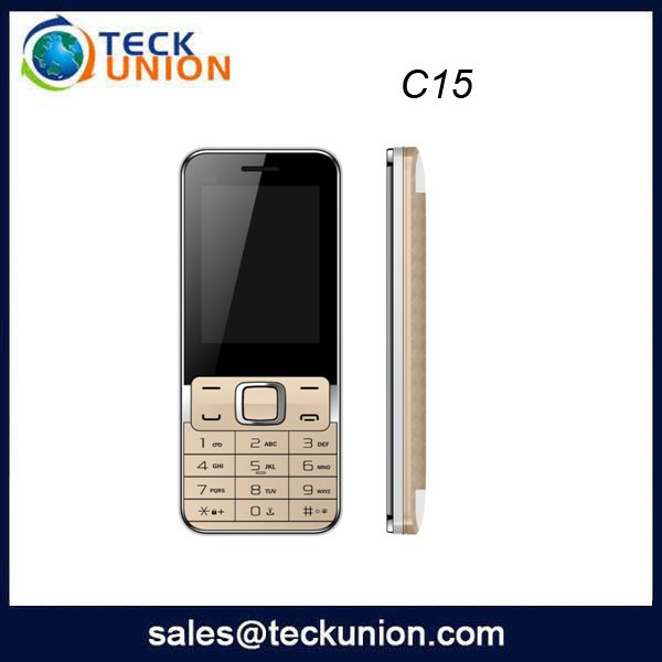 C15 2.4inch No Brand 3G cheap small size cell phone