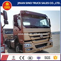 chinese trucks manufacturers best howo tractor truck for sale in Philippines