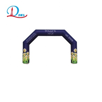 high quality colorful inflatable arch