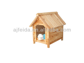 wooden dogs house