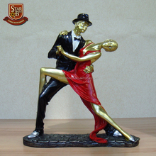 Factory price custom made wholesales resin dancer figurines