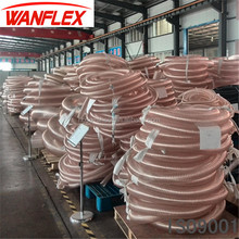 PU(polyurethane) suction hose/clear flexible dust collection pipe