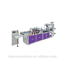 LR 600-800 Plastic film triangle type flower bag plastic carry bag extrusion making machine