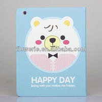FL2887 2013 Guangzhou new arrival stand cute animal cell phone case for ipad 4