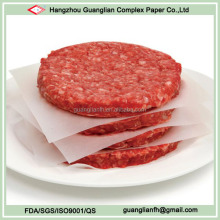 Double Sides Wax Coated Burger Patty Paper