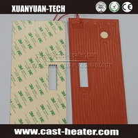 silicone rubber 12v heat pad waterproof