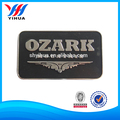 Chrome Plated Oem Zinc Alloy Sticker Nameplate Label