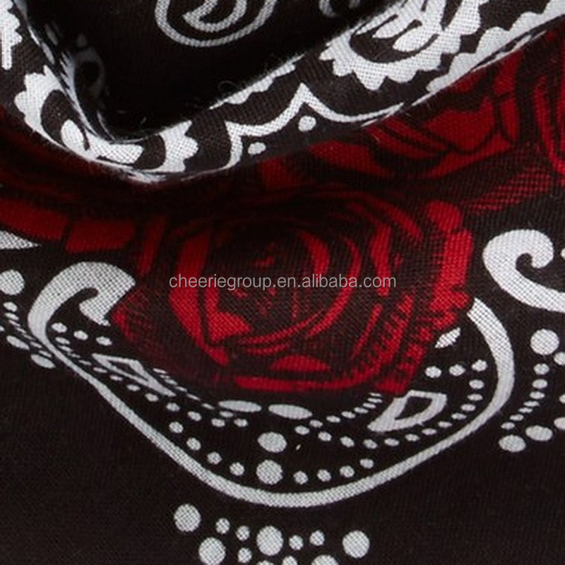 stock clearance high quality cotton multifunctional bandana headband cheap bandanas on sale