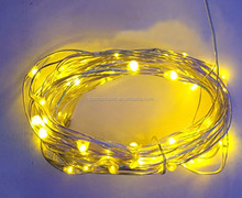 Christmas decoration Copper USB led triping mini wire led string lights 10/20/30/40/50/60/70/80/100M