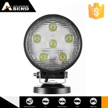 18w led work light,led flood spot light,12v/24v,headlight,fog light for truck jeep offroad RV SUV boat heavy duty