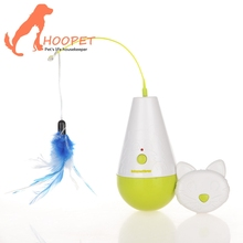 Factory Supply Good Quality Cat Toy, battery operated cat toy feather
