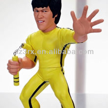 custom action figure of Bruce Lee for gifts or decoration, bruce lee action figure