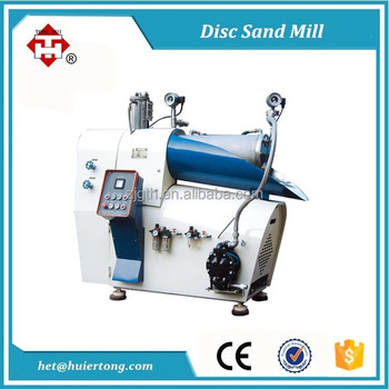 SW-15L Disc Rotor Horizontal Sand Mill for Paint and ink