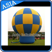 Giant Inflatable Advertising Rooftop Balloons / Inflatable Cold Air Balloon With Logo Printing