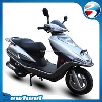 Bewheel two wheel gasoline motorcycle 125cc adults scooter