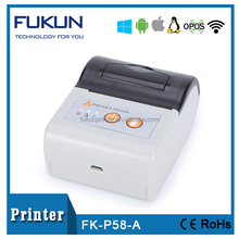 58mm hand held battery powered portable printer wireless thermal printer