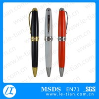 office stationery promotional metal roll out pen