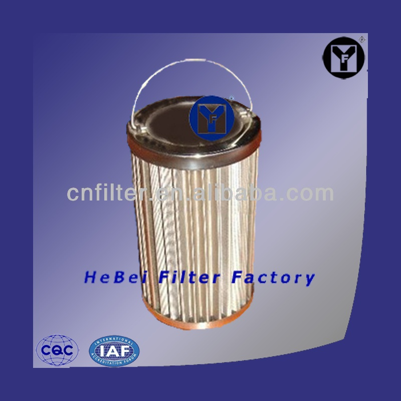 Pleated Cartridge Filter Metal Filter