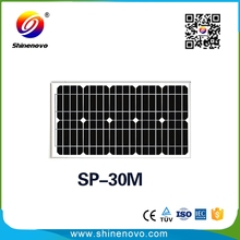 30w photovoltaic solar module for house