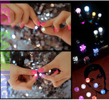 New Ebay Top Sale Party LED Stud Earring For Teens