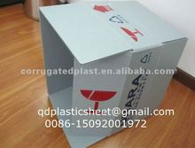 Automotive Parts Packaging Corrugated Plastic Box