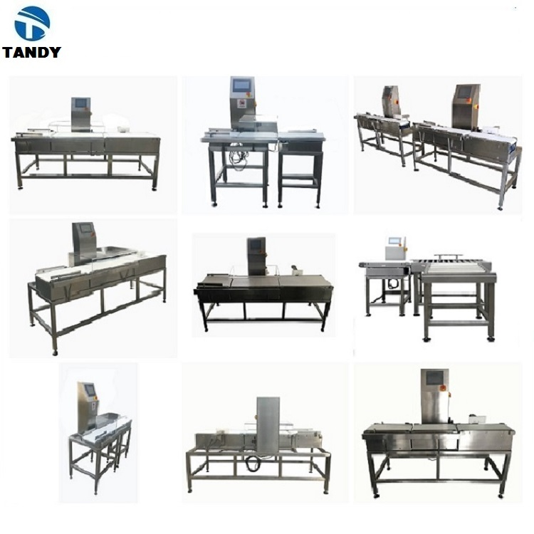 Automatic food grade online weight checker / Automatic check weigher / Conveyor weighing machine