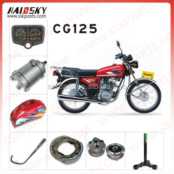 HAISSKY CG 125 electric motor spare parts hydraulic motor spare parts