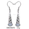 High Quality Fashion Jewelry 925 Sterling Silver White Opal Drop Earrings