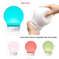 Rechargeable color changing bluetooth smart speaker table lamp touch responsive lamp