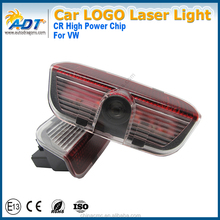 Wireless Led Car Door Projector Lights Auto Courtesy Welcome Logo Shadow Lamp Magnet Sensor Lights for VW
