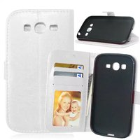 Universal Leather Phone Case with 3 Card Holders Case for samsung galaxy grand neo i9060