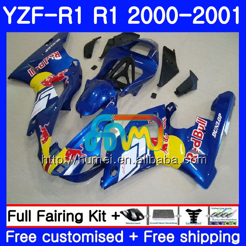 Bodywork For YAMAHA YZF 1000 YZF-<strong>R1</strong> 2000 <strong>2001</strong> Body Yellow blk 98HM47 YZF1000 YZF R 1 YZFR1 00 01 YZF-1000 YZF <strong>R1</strong> 00 01 <strong>Fairing</strong>