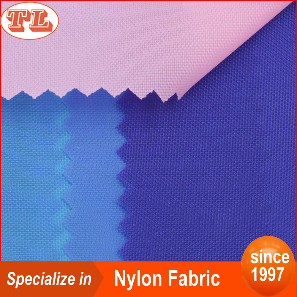 Wholesale <strong>nylon</strong> 210d pu coated lining fabric for outdoor tent awning fur coat