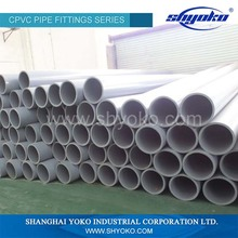 Promotional top quality large diameter pvc pipe