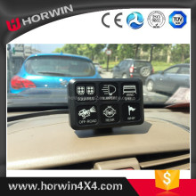Automotive ATV 4x4 Jeep JK 12 V Led Universal INTERRUPTOR BASCULANTE con el diagrama de cableado