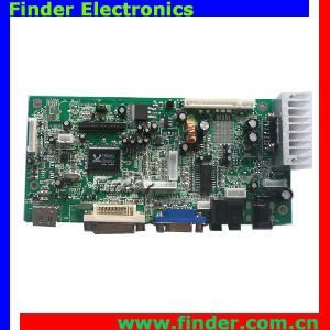 Economical PC/AV Board dual/single LVDS LCD panel lcd av controller board