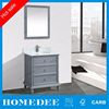 Homedee Plywood wholesale furniture single sink bathroom vanity cheap MDF bathroom cabinet