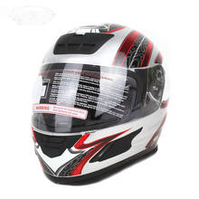 DOT Motorcycle Helmet Full Face Street Bike Casco