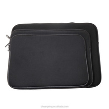 Universal Customized Black Neoprene And PU Computer Bag Laptop Sleeve